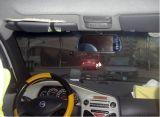 """Monitor de espelho retrovisor com vista traseira / traseira de carro de 7 """"TFT LCD com USB / SD / MP5 M705c"""