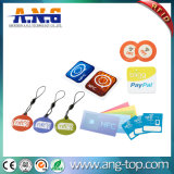 Regrabables de 39mm epoxi RFID Tarjeta Clave para la gestión de membresía