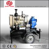 bomba de água 4-8inch Diesel para a irrigação/projeto municipal com bomba centrífuga