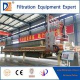 DZ-Schnelle-Openning Membranen-Filterpresse für Abwasserbehandlung