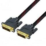 alta velocità di 2m Gold-Plated proteggendo il cavo doppio di collegamento DVI