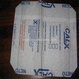 Бумага Kraft с белым мешком сплетенным PP назад загерметизированным