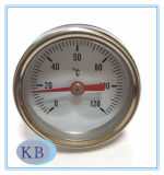 MiniWijzerplaat 34mm 0+120c van de Thermometer HVAC