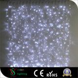 Luzes de cortina de fada de Natal para decorações de parede