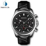 Orologio ultrasottile svizzero dell'uomo di sport del movimento del cronografo