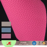 Material de couro do PVC da bolsa elegante com revestimento protetor feito malha