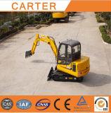Carter45-8CT b (4,5T) miniescavadora Retroescavadeira Esteiras Hidráulico
