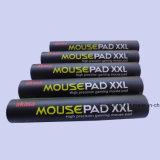 Коврик для мыши разыгрыша высокого качества с коробкой цвета и пакетом пробки