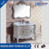 Module de salle de bains chaud de meubles de bassin d'antiquité en bois solide de vente
