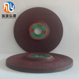 125 * 6 * 22 Roda de trançamento de resina reforçada para aços e fundições gerais