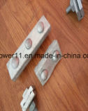Línea abrazadera del alambre de individuo de alambre apropiada eléctrica del cable de la abrazadera de cuerda del hardware de la potencia