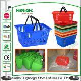 Épicerie Shopping Basket Plastic Basket pour Supermarket