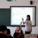 그것을 가르치기에 쉬운 만드는 중국 대화식 Whiteboard
