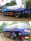 210HP 6 roda 10 toneladas de petroleiro 10000 litro caminhão do pulverizador de tanque da água para a venda