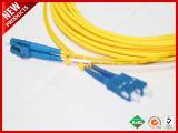 2.0Mm SC LC Оптоволоконный SM DX LSZH кабель