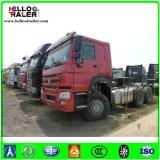 Novo 6X4 Tipo Euro 2 China HOWO A7 371HP Sinotruk Tractor Head