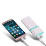 10000mAh novo design refrigerador forma banco de energia 2 carregador móvel USB com porta do iPhone