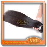 Natural em linha reta de extensões malaias do cabelo 6A