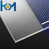 Panneau solaire à 3 mm d'arc en verre PV tempéré / Verre solaire / Verre à faible fer pour module cellulaire
