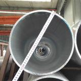 6063 T5 T6は管大口径アルミニウム突き出た