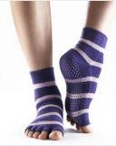 형식 Toe Cotton Yoga Socks 또는 Cotton Socks/Anti Slip Socks