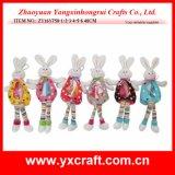Coelho de Easter Camo da decoração de Easter (ZY15Y327-1-2-3)