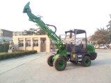 4 Wd de Telescopische Fabrikant van de Lader Zl10f China voor de Markt van Europa