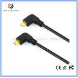 90 Grad-rechtwinkliges umschaltbares Mikro USB-Kabel Flexi