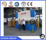 Doblador plateado de metal del control hidráulico del CNC/dobladora