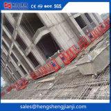 Горячей платформа деятельности фасада гальванизирования Zlp630 стальной ая чисткой