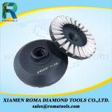Колеса чашки диаманта Romatools для гранита, бетона и мрамора