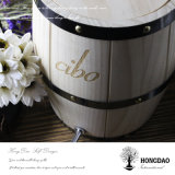 Hongdao Custom Wedding Wooden Whisky Wine Barrel pour la décoration ou Use_L