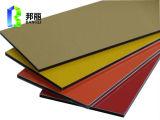 Hoja de color rojo PVDF Espejo de aluminio anodizado de aluminio sólido