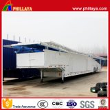 2/3대의 반 차축 자동 수송 트럭 차 트레일러