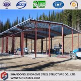 Almacén de almacenaje de acero del marco porta prefabricado