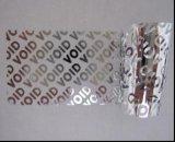 Les étiquettes de inviolable, transfert partiel, faible résidu
