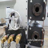 Máquina de rolar para vidro de padrão