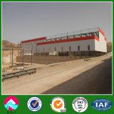 Estructura de acero prefabricado para el edificio de ladrillo / fábrica / Percha en Argelia