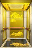 Ascenseur de passager avec la décoration chinoise de vent