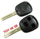 Buon Quality per Lexus Remote Key Shell 3 Button (Without il Paper Words)