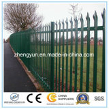 ISO9001 Fermeture en acier de gros, clôture en fer forgé, clôture de jardin