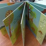 Panneau de bord de l'enfant de haute qualité Impression de livre Die Cut Hold Book