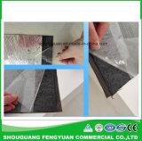 알루미늄 호일을%s 가진 두 배 옆 자동 접착 가연 광물 방수 막