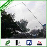 Strato resistente di vendita della garanzia della graffiatura di dieci anni calda trasparente del policarbonato con UV