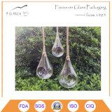 熱い販売のハングの水気が多いガラス庭プランター