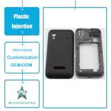 Stampaggio ad iniezione di plastica personalizzato dei prodotti del telefono mobile del coperchio di plastica di plastica del cellulare