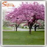 Árvore de flor artificial de flor de cerejeira para decoração de casamento