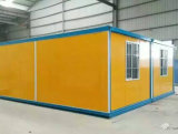 10FT 20 FT Flat Pack Fold Shop / Guard Mobilier Rolling Steel Door Container House