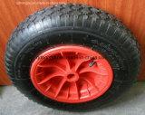 16''x4.00-8 Roda Wheelbarrow Borracha pneumático