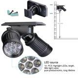 Scheinwerfer Solarder bewegungs-Fühler-Sicherheits-Licht-heller Wand-Montierungs-LED